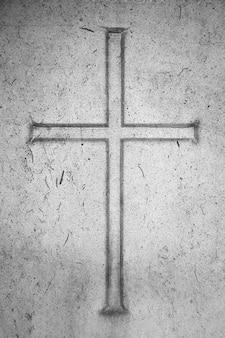 Foi jésus retro crucifix religieux
