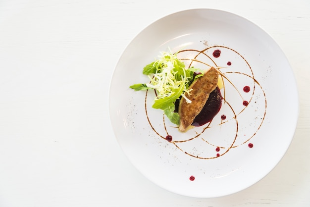 Foie gras grillé