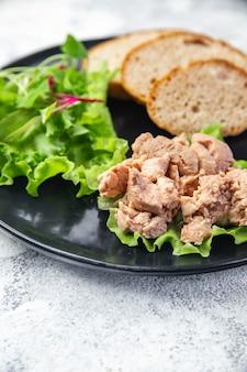 Foie de morue à l'huile graisse de poisson fruits de mer vitamine oméga3 apéritif frais prêt à manger repas collation