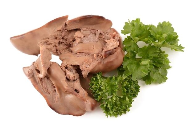 Foies de poulet et persil