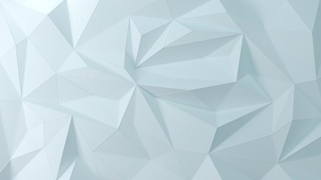 Fond 3d géométrique bleu clair de la particule