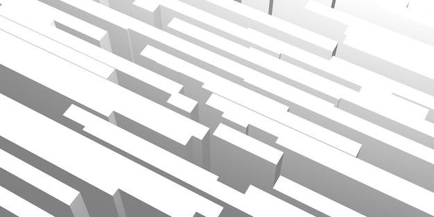 Fond abstrait bâton lumière et ombre illustration 3d (1)