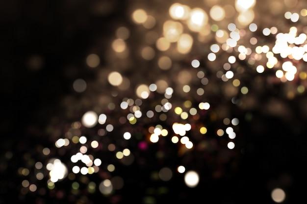 Fond abstrait de bokeh lights