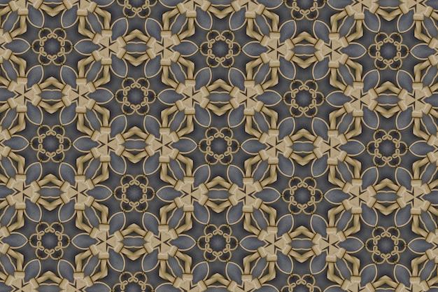 Fond abstrait doré texturé, lignes et formes