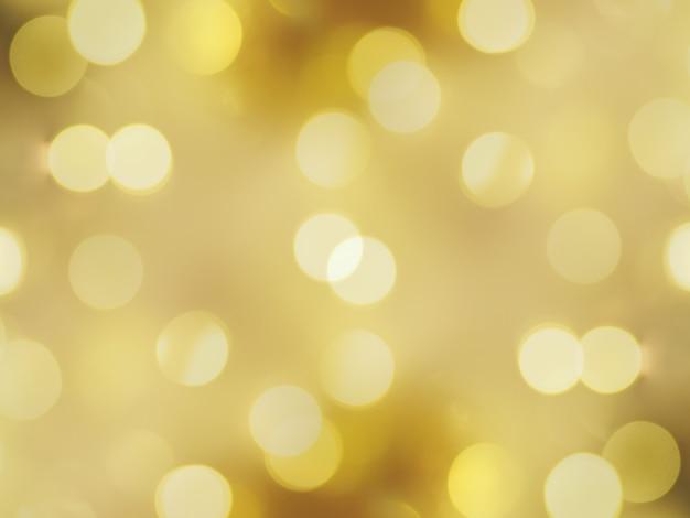 Fond abstrait estompé d'or