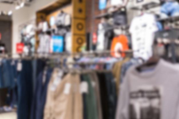 Fond abstrait flou de vêtements en coton multicolores