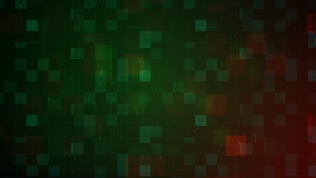 Fond abstrait géométrique de rendu 3d