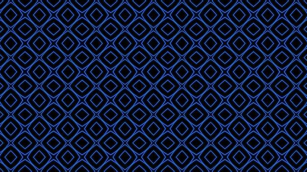 Fond abstrait géométrique sans couture bleu photo premium