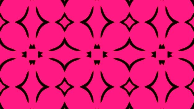 Fond abstrait géométrique sans couture rose photo premium