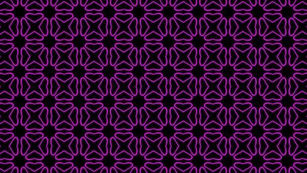 Fond abstrait géométrique transparente pourpre photo premium