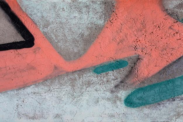 Fond abstrait graffiti mural coloré