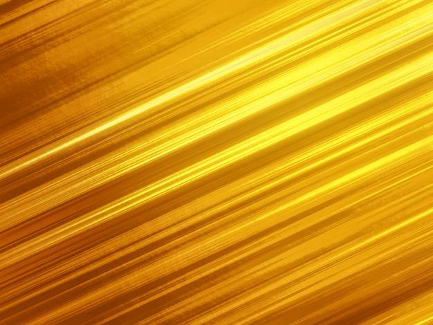 Fond abstrait lignes diagonales dorées