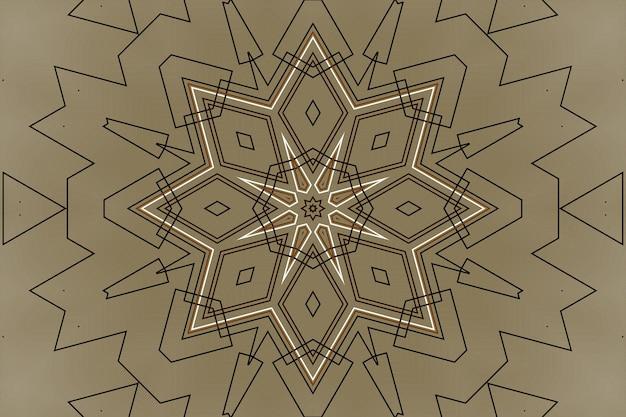 Fond abstrait de mécanisme de technologie, éléments de technologie géométriques numériques, reliant des formes linéaires de pièces