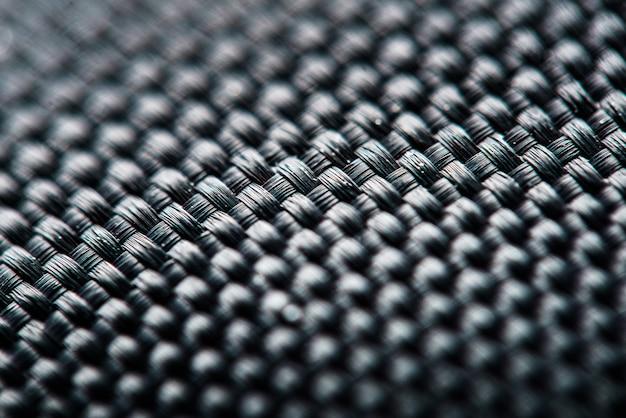 Fond abstrait, photo macro de tissu