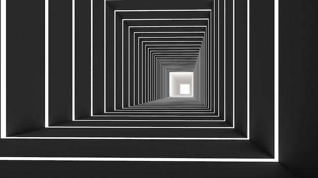 Fond abstrait rectangle