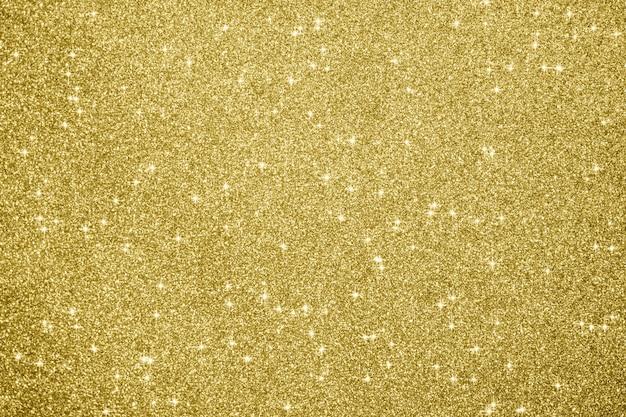 Fond abstrait scintillant de paillettes d'or