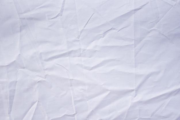 Fond abstrait tissu blanc