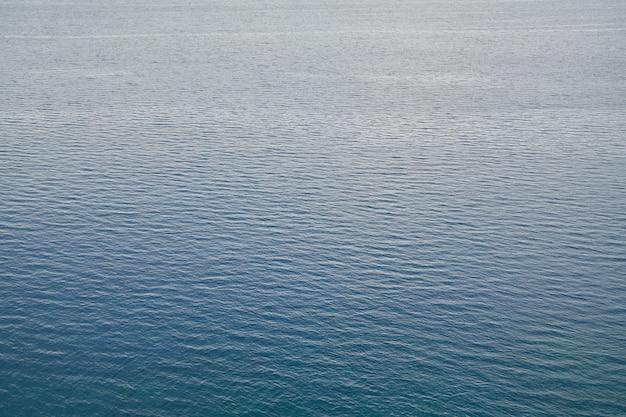 Fond abstrait vagues de la mer bleue