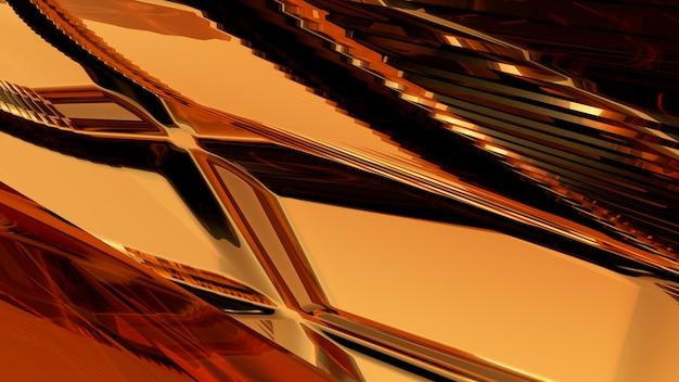Fond abstrait verre brun rendu 3d