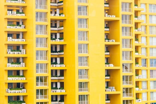 Fond abstrait ville gratte-ciel blanc