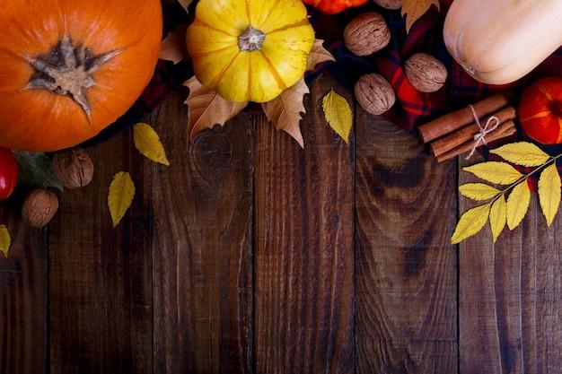 Fond de l'action de grâce d'automne