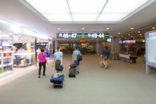 Fond de l'aéroport