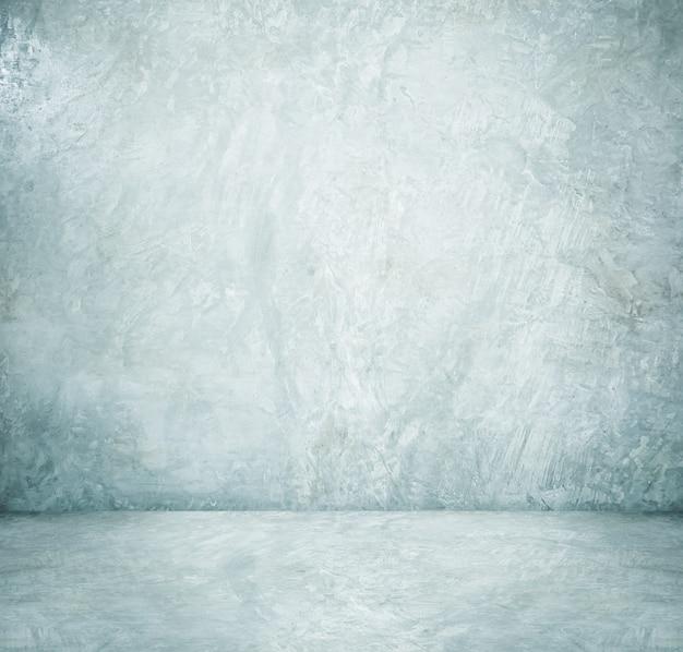 Fond, affichage de produit, salle vide de ciment blanc, design d'intérieur, maquette de fond