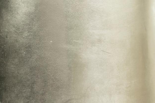 Fond en aluminium ou texture et dégradés d'ombre. fond argenté.