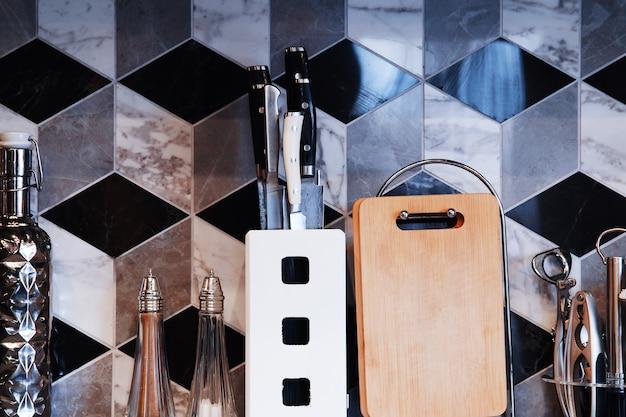 Fond d'appareils de cuisine de luxe hd