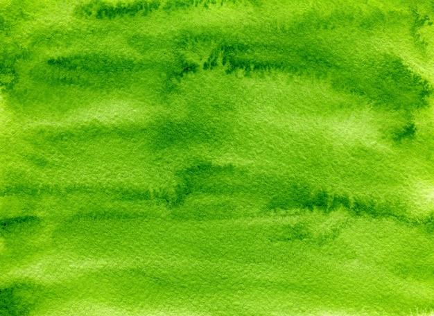 Fond aquarelle abstrait vert