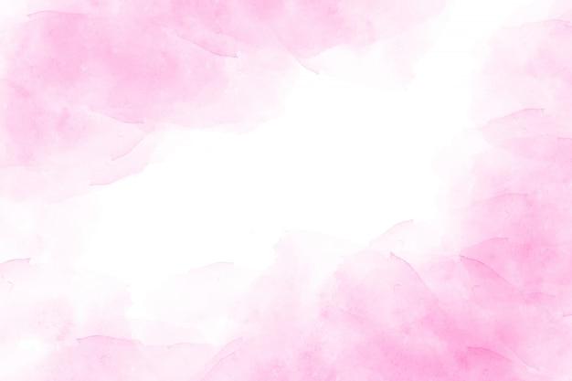 Fond aquarelle abstraite rose