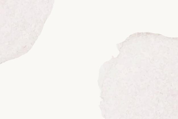 Fond d'aquarelle beige avec des taches grises dans un style simple