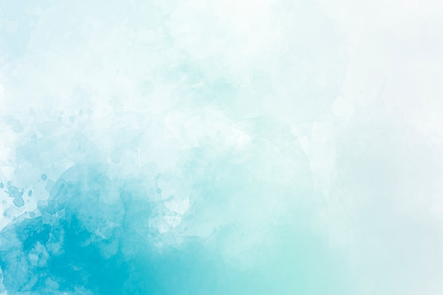 Fond aquarelle bleu. dessin numérique.
