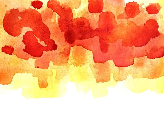 Fond aquarelle coloré avec bord isolé. élément vif pour votre conception