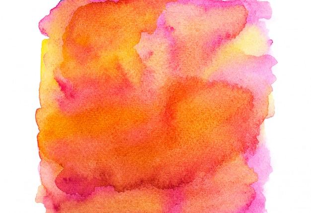 Fond aquarelle coloré.
