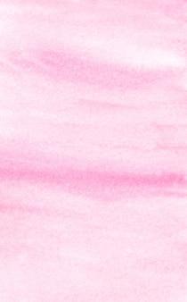 Fond d'aquarelle, conception texturée de peinture à l'aquarelle rose sur fond de papier blanc, résumé d'art avec espace de copie pour bannière, affiche, papier peint, toile de fond