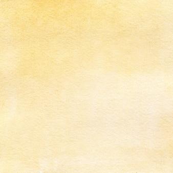 Fond aquarelle dessiné à la main texture aquarelle jaune clair