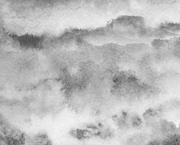 Fond aquarelle gris. peint à la main au pinceau
