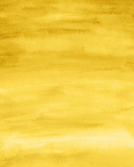 Fond aquarelle jaune, texture du papier