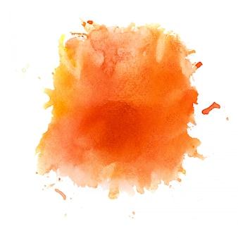 Fond aquarelle orange.