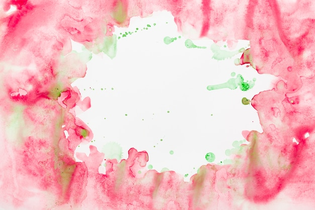 Fond aquarelle splash
