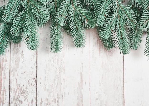 Fond d'arbre de noël. carte de voeux de bonne année.