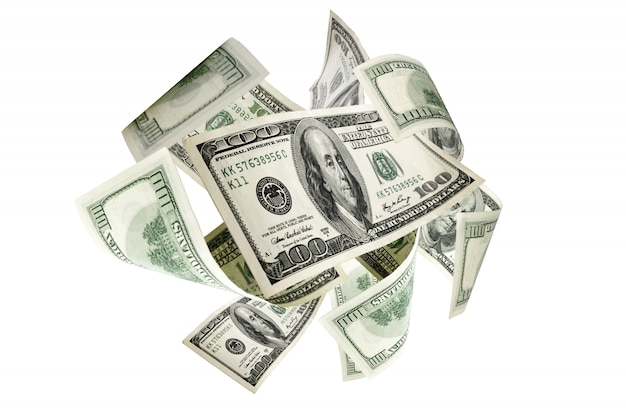 Fond d'argent. cent dollars d'amérique. argent comptant usd