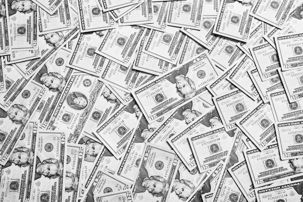 Fond de l'argent, face avant de billets de 20 dollars. fond de dollars,