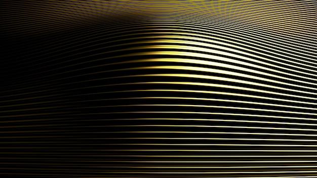 Fond argenté or métallique avec impression en trois dimensions. illustration 3d, rendu 3d.