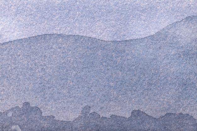 Fond d'art abstrait couleur bleu et gris clair. peinture multicolore sur toile.