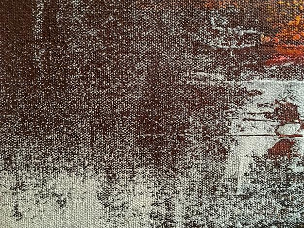 Fond d'art abstrait avec des couleurs marron et blanches