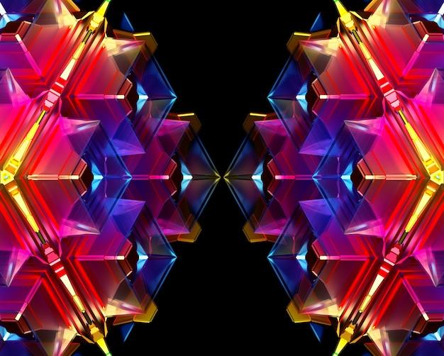 Fond d'art abstrait fractal