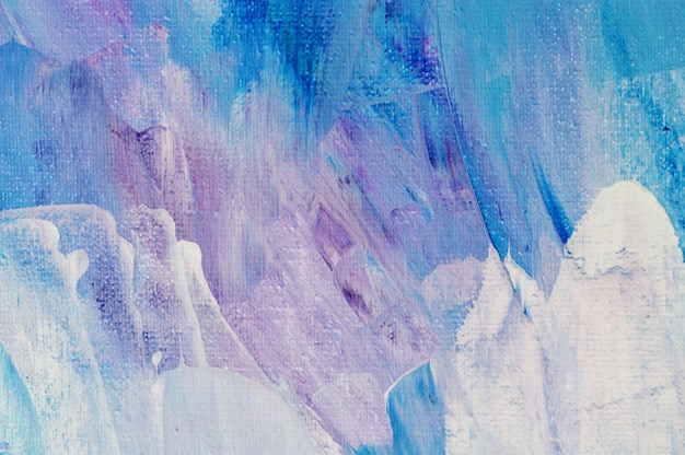 Fond d'art abstrait peinture acrylique dessinée à la main. peinture acrylique à texture colorée