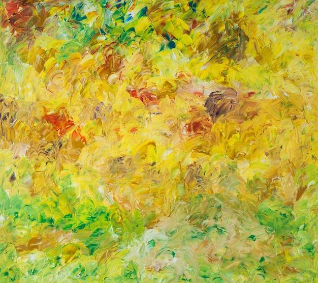 Fond d'art abstrait de peintures à l'huile
